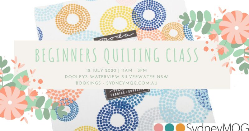 Beginners Quilting Classes