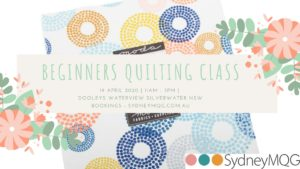 Beginners Quilting Class @ Dooley's Waterview Club in Silverwater